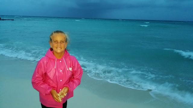Macarena en Las Maldivas