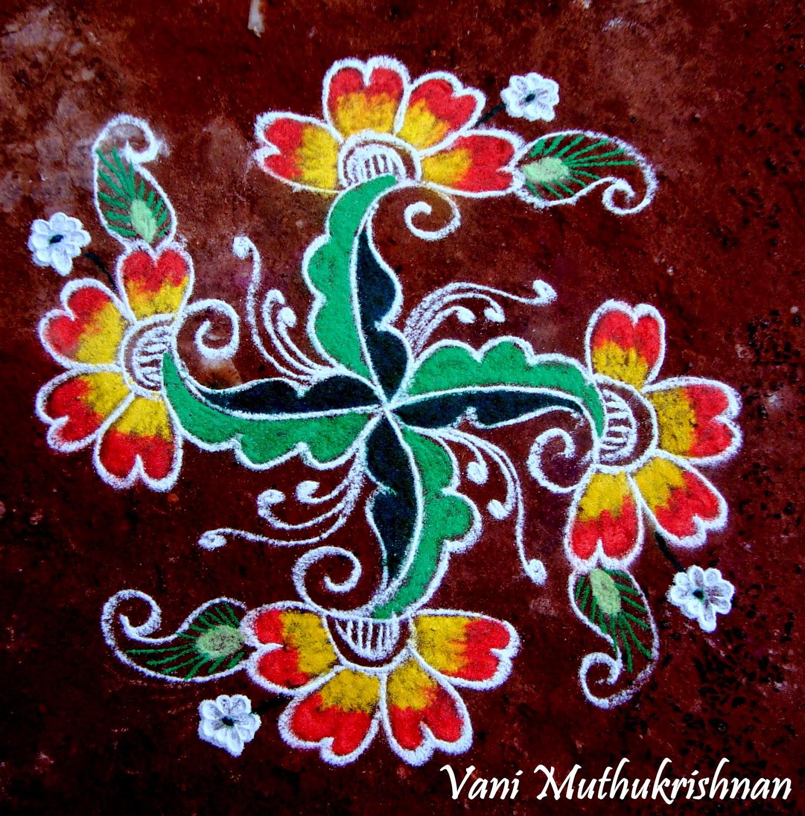 Kolam Designs 28