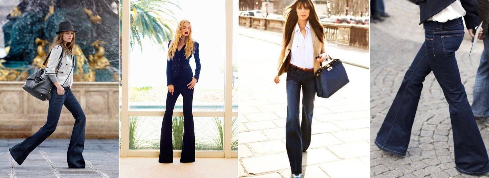 İspanyol Paça Pantolon Nasıl Giyilir
