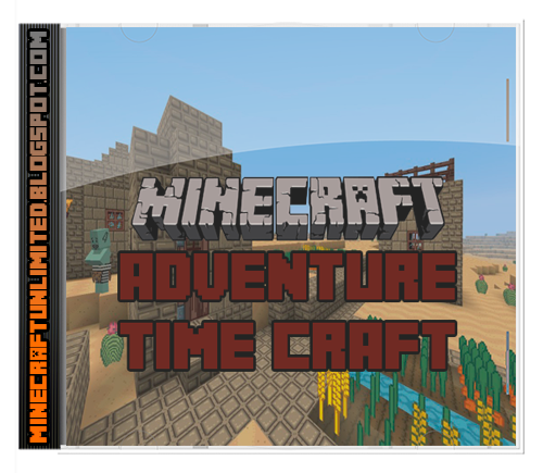 Adventure Time Craft Texture Pack caratula