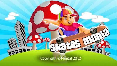 Jogo para Celular Skates Mania para Nokia 5800, 5230, 5233, N97, X6 e N8