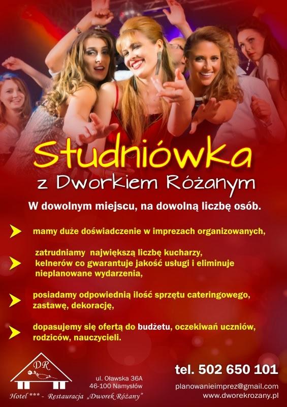 Studniówka 2014 - Dworek Różany - Namysłów