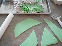how to make gumpaste tissue paper tutorial