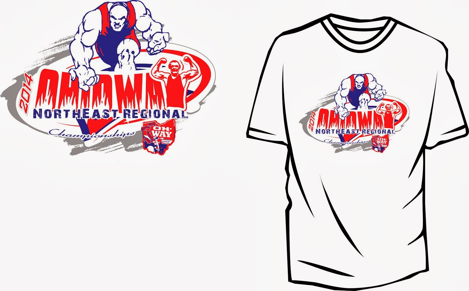 Wrestling Apparel Design