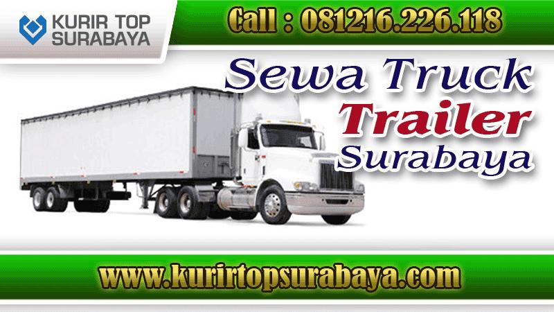 Jasa Sewa Truk Trailer Surabaya