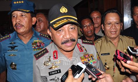 Panglima TNI, Kapolri dan Kepala BIN Berkunjung Ke Poso