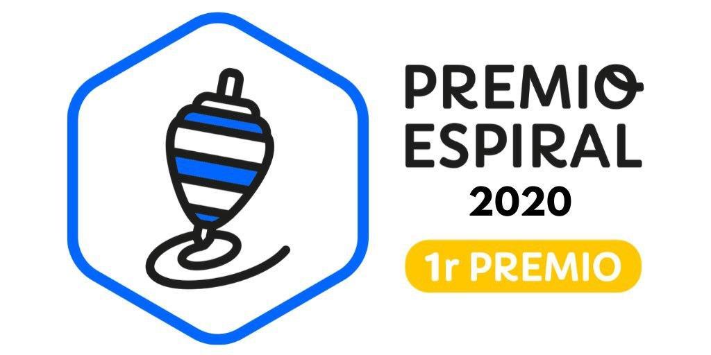 PEONZA DE ORO EN LOS PREMIOS ESPIRAL 2020