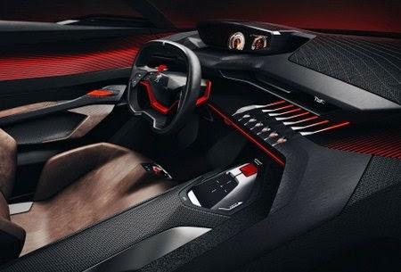 2015 Peugeot Quartz interior