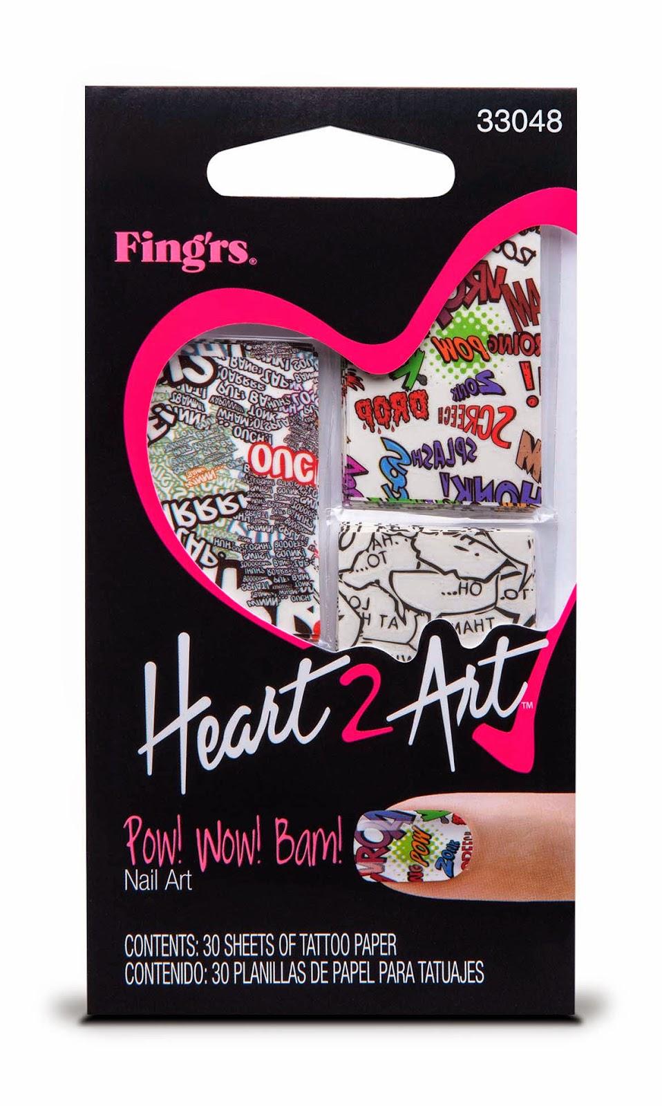 Vita da Sbally: Fing'rs, la nuova collezione Heart2Art per ...