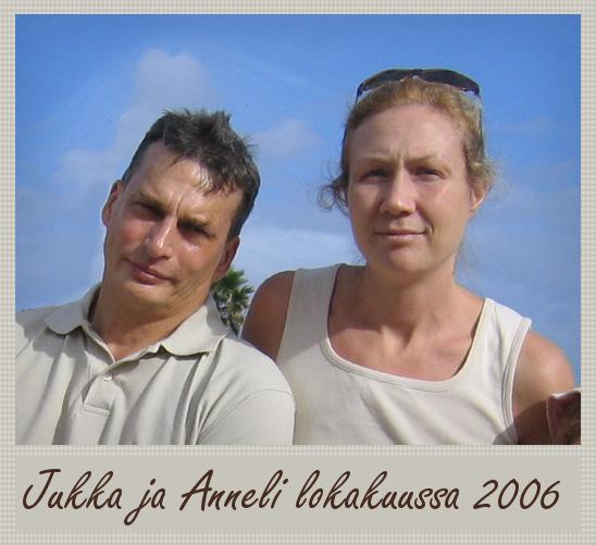 Jukka S. Lahti ja Anneli Auer syyslomalla 2006