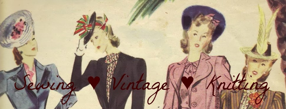 Sewing  Vintage  Knitting