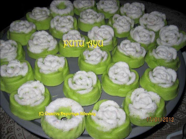 DapurnyaNilawaty: Kue Putu Ayu