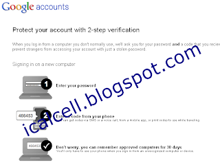 protect google account with 2-step Verification