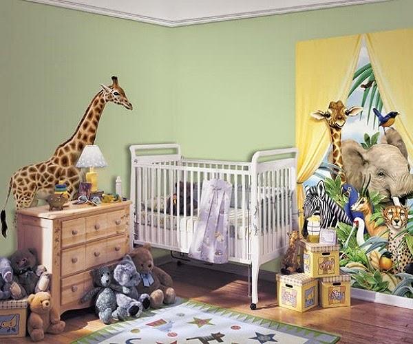 Idée de decoration girafe bébé