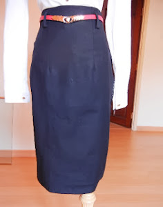 Miss Adele High Waisted Skirt Long V2