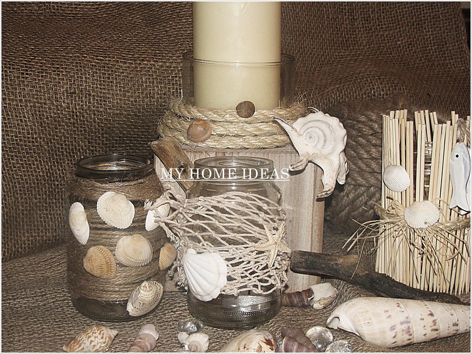 My Home Ideas Dekoracje Marynistyczne Z Serii Zrob To Sam