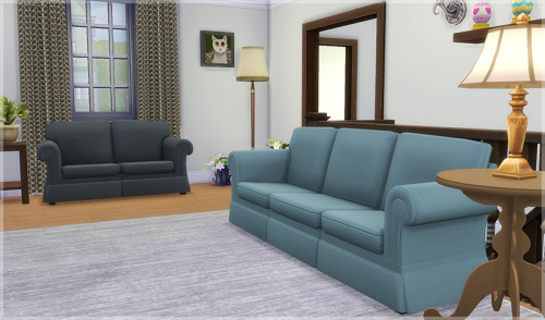 Hipster Hugger Sofa And Love Seat   Starlight Pastel Colors By LemonJelly