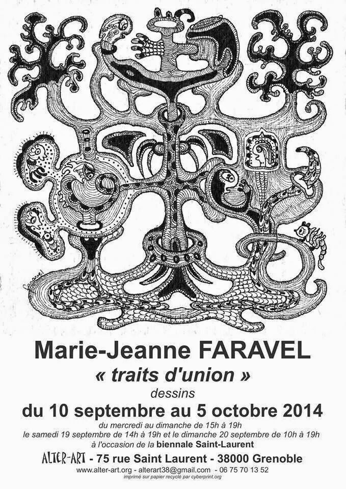 marie jeanne faravel art outsider ar singulier traits d union expo