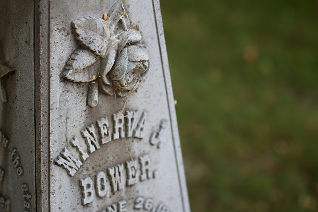 Historical Society of Greater Lansing - Gunnisonville Cemetery Walking Tour. photo by Tammy Sue Allen.