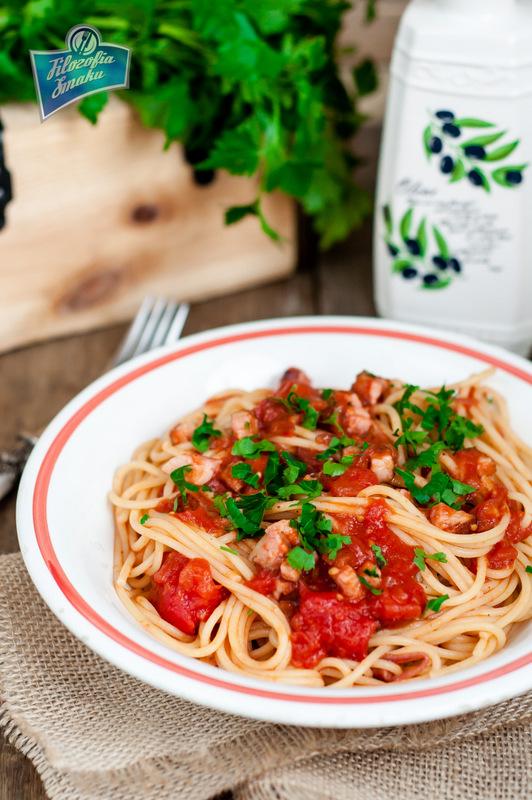 Spaghetti alla Matriciana przepis