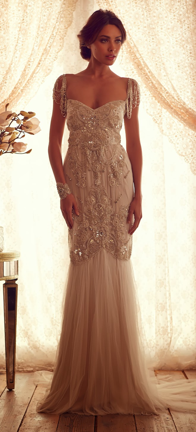 Anna campbell 2013 gossamer collection part 1 belle for The great gatsby wedding dresses