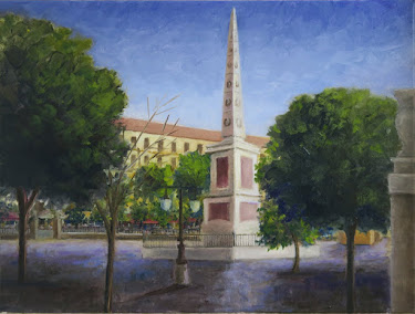 La Plaza de la Merced, Málaga (12P)