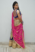 Pavani Gorgeous in half saree-thumbnail-2