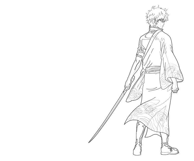 printable-sakata-gintoki-character-coloring-pages