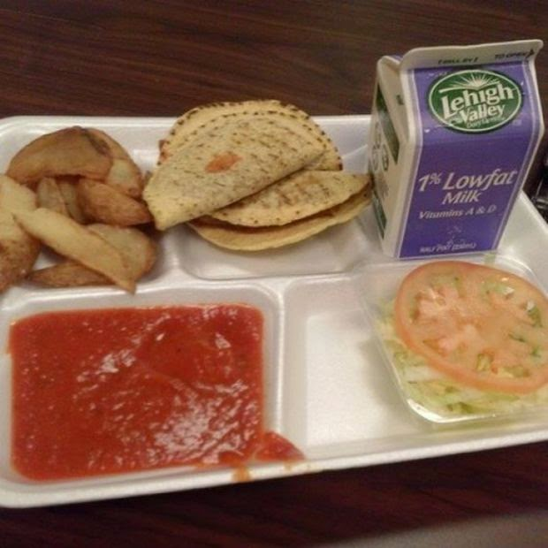 U S Cooking: Prison Food Vs. School Lunches (14 Pics