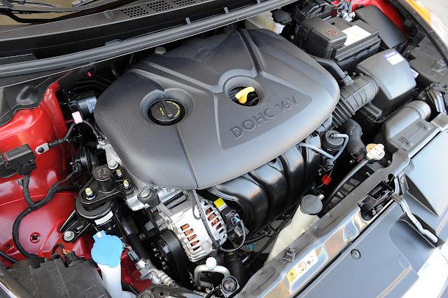 запчасти двигателя Hyundai Elantra Coupe 2013