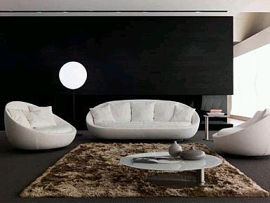 MuyAmeno Muebles de Sala Blancos