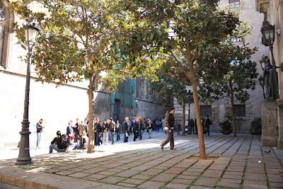 Plaça Garriga i Bachs in Barcelona