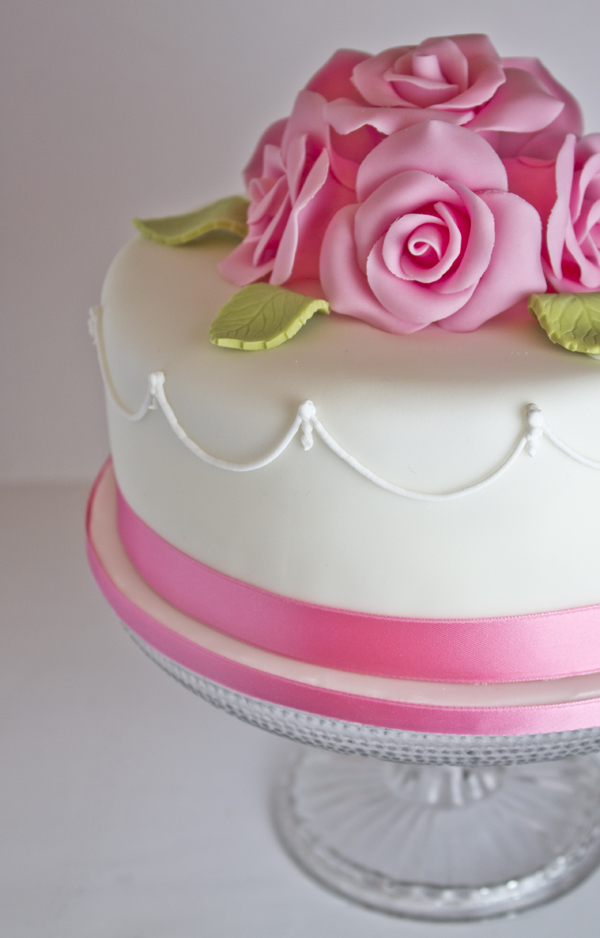 How To Roll Cake Icing