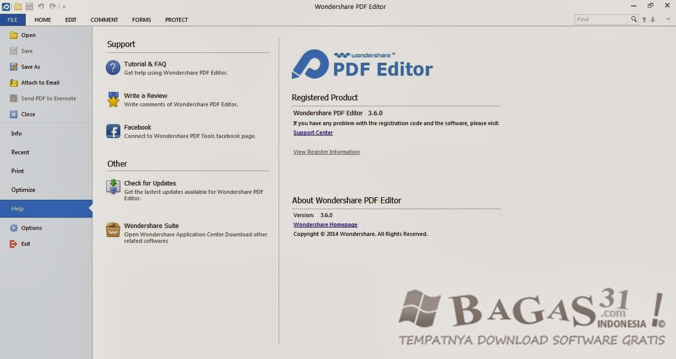 Wondershare PDF Editor 3.6 Full Keygen 4