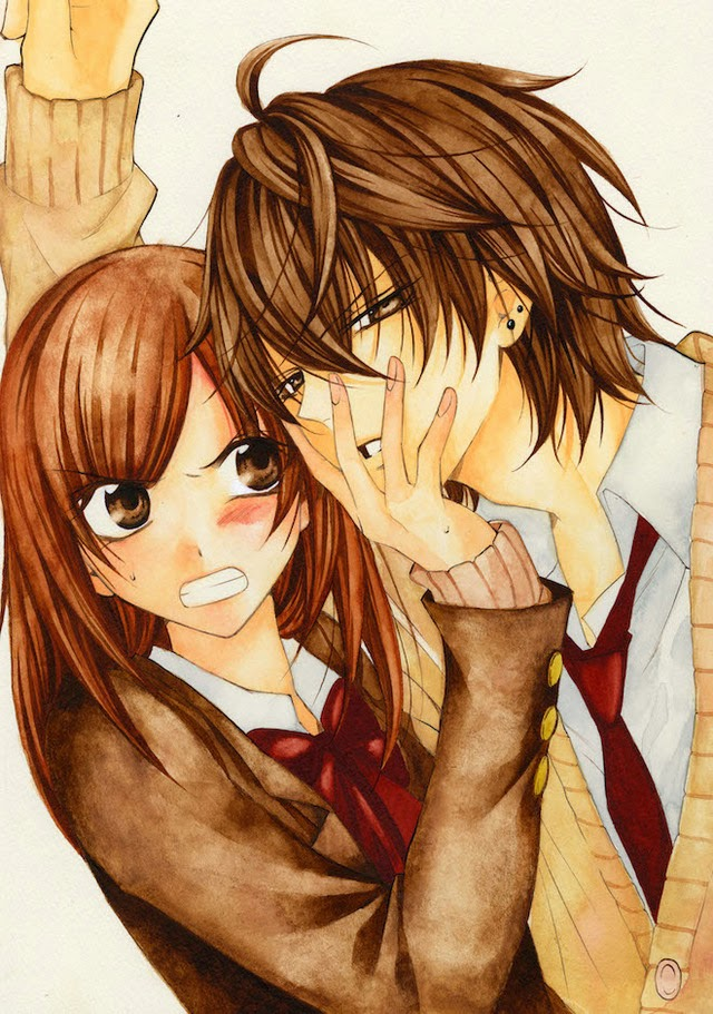 Namaikizakari manganime sempai - Manga couple triste ...