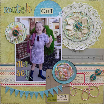 Published Scrapbook Creations