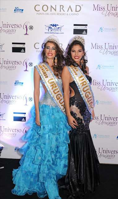 Miss Universo and Miss Mundo Uruguay
