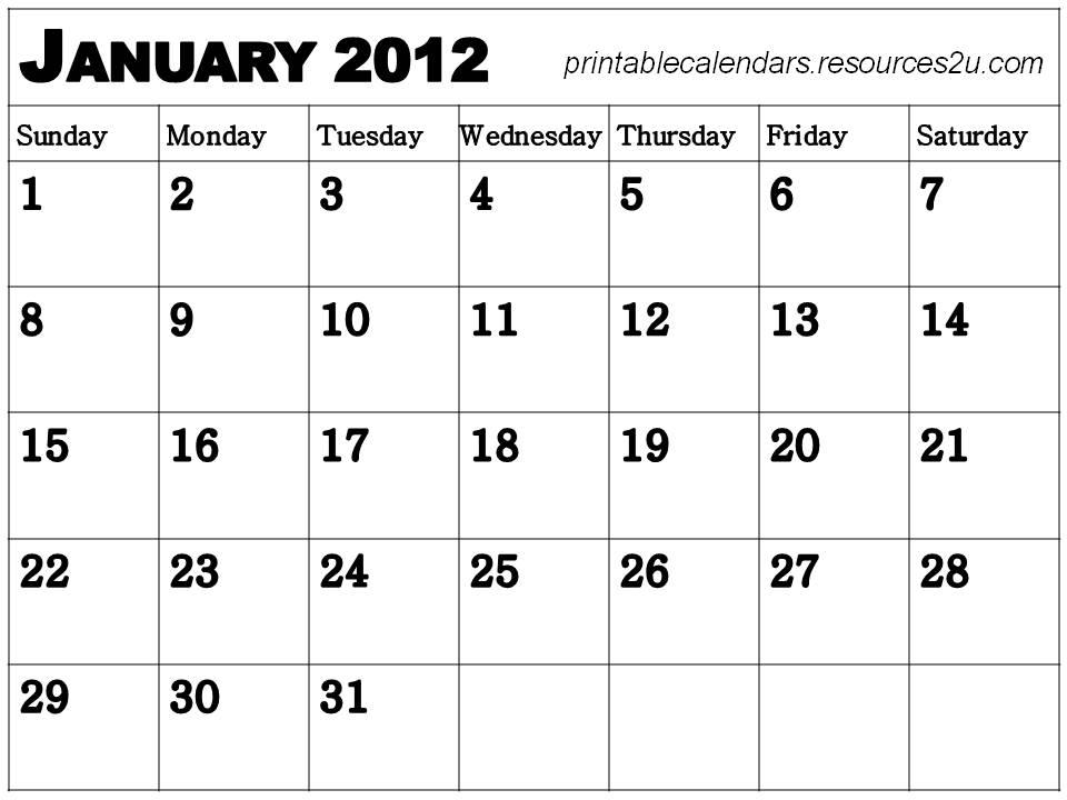 Printable january 2015 calendar for kids new calendar template site