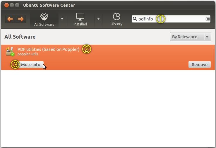 remove password from pdf ubuntu