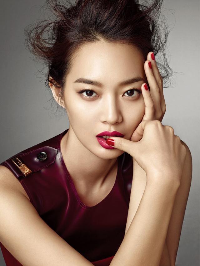 Shin Min Ah For Allure Korea Bismillah