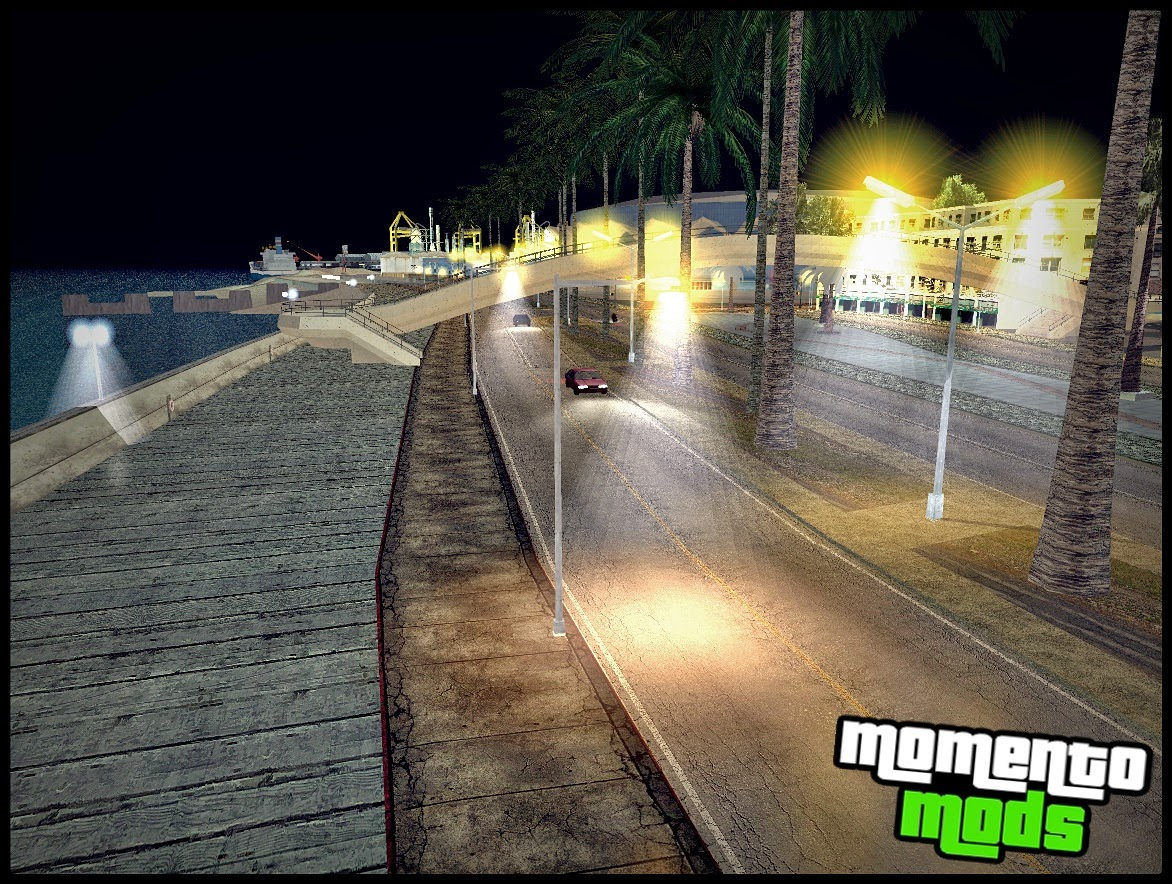 GTA SA - Improved Lamppost Lights V3 Atualizado