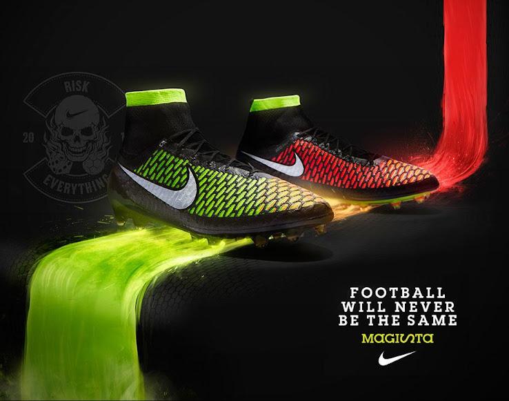 Nuevos diseños de los botines Nike Magista, los que tienen media incluída