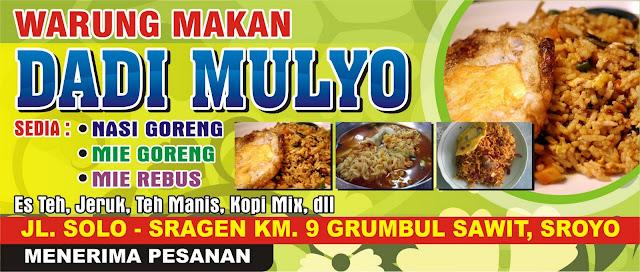 Sepanduk Gratis Warung Makan ~ solusi cetak undangan souvenir termurah ...
