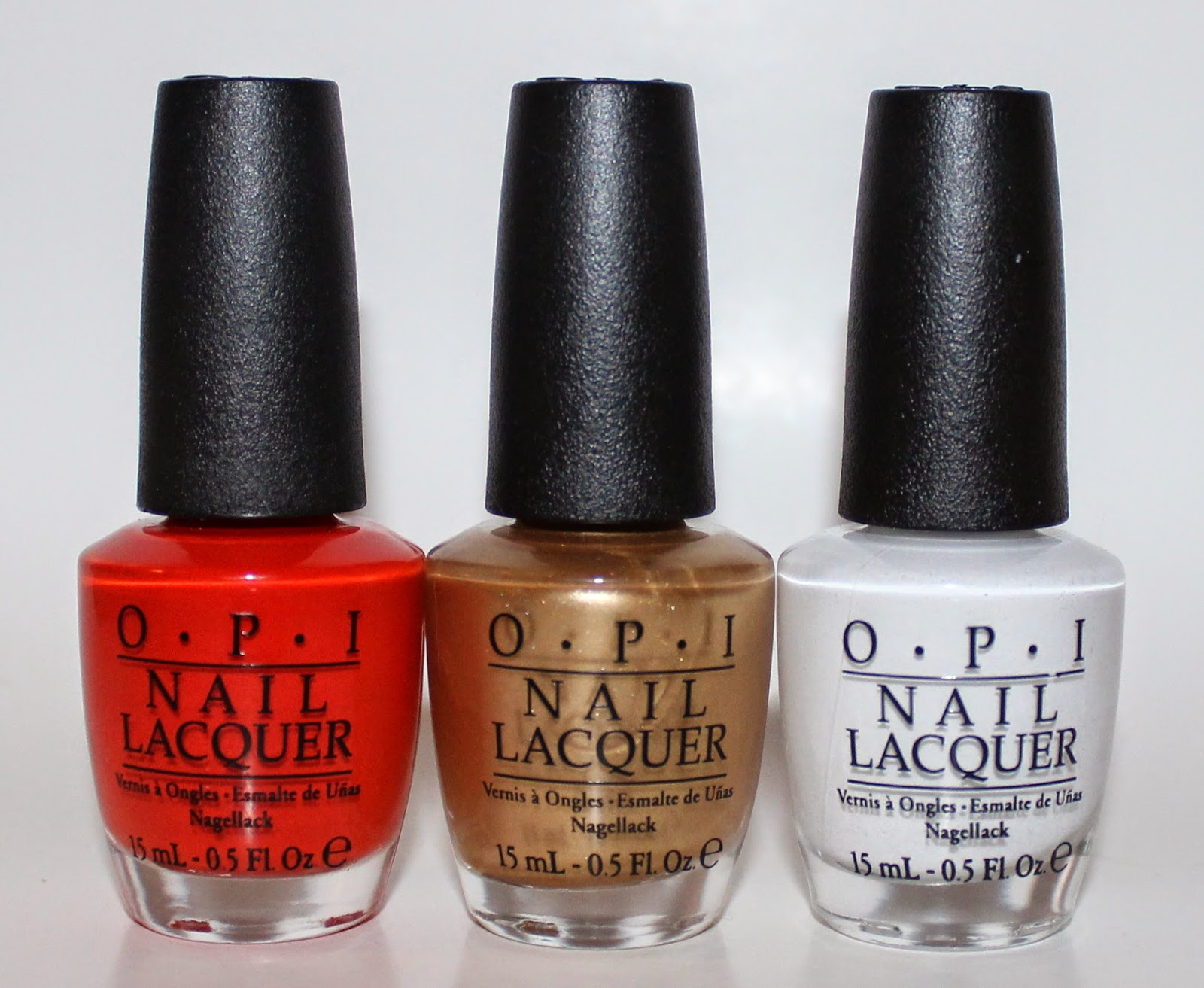 OPI Ford Mustang Collection Bottle Shot