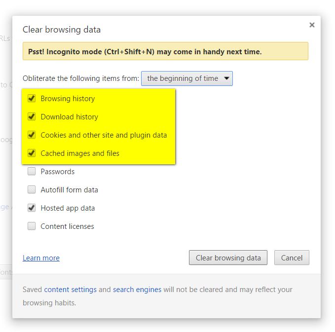 Google Chrome Facebook