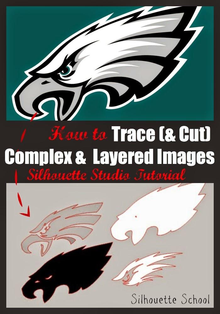 Tracing Complex And Multi Color Designs Silhouette