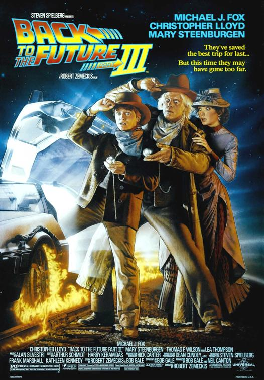 Back to the Future Part III 1990 movie