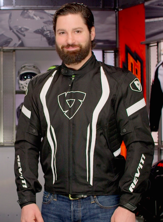 REV'IT! Raceway Textile Motorcycle Jacket