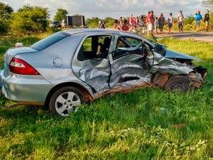 Acidente aconteceu na quinta-feira, dia de Natal (Foto: Blog Braga)