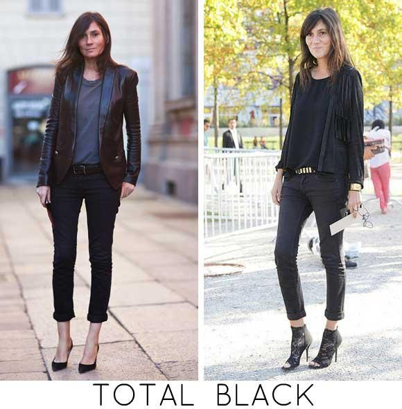 EMMANUELLEALT TOTAL BLACK